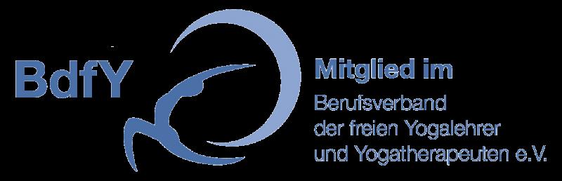 Mitglied im BdfY - Berufsverband der freien Yogalehrer und Yogatherapeuten e.V.